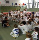 Training mit einem Olympiastarter
